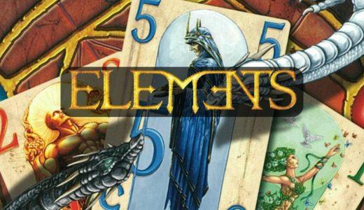 『エレメンツ』数字の合計を調整する2人専用頭脳戦ボードゲーム