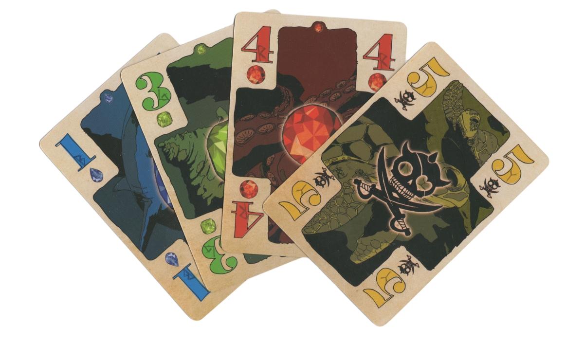 『海賊の宝島 ~オクラコーク~』カード