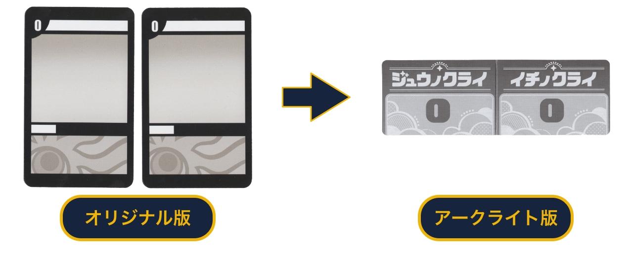 『ダブルナイン』「00カード」の変更
